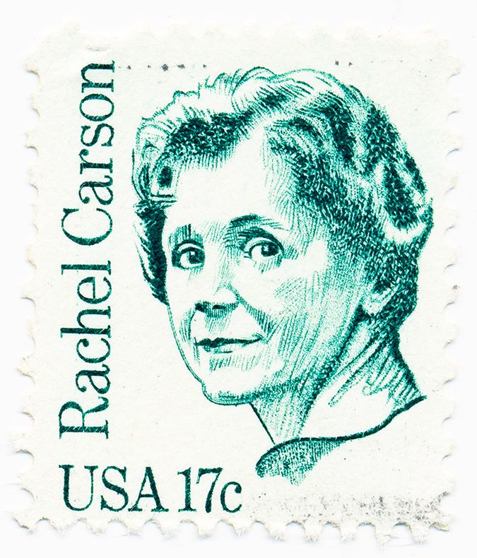 rachel carson - us postage stamp - full - Solodov Aleksei - Shutterstock - embed
