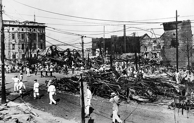 the great kanto earthquake - embed - everett historical - shutterstock - embed