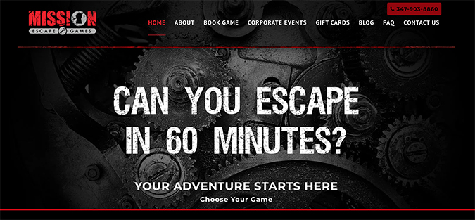 Mission Escape Games - Official Site