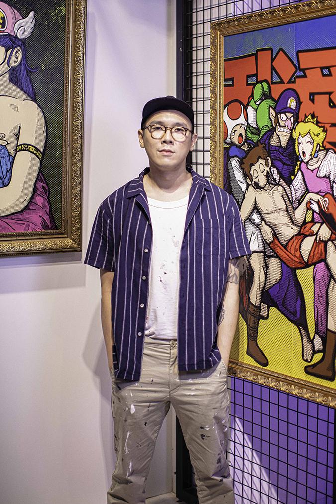 artist ernest chang - portrait - embed