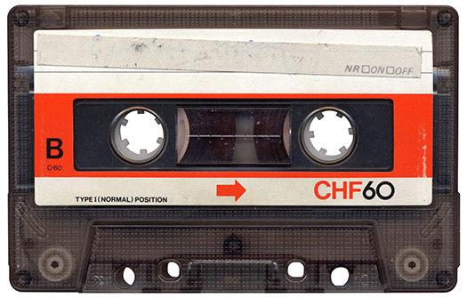 casette tape - Digital N - Shutterstock