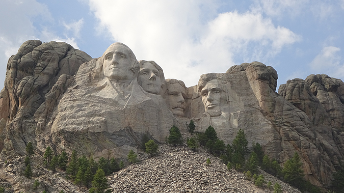 mount rushmore - full photo - Shane Keele - Shutterstock