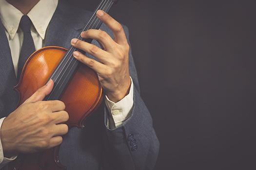 suit & violin - PrinceOfLove - Shutterstock