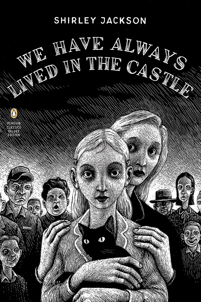 we have always lived in the castle - book cover - penguin random house - illustrator thomas ott - embed