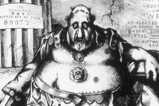 boss tweed - thomas nast - everett historical - shutterstock
