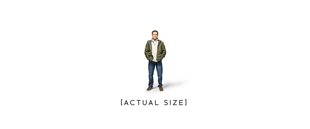 downsizing - movie poster - paramount pictures - movie review - feature