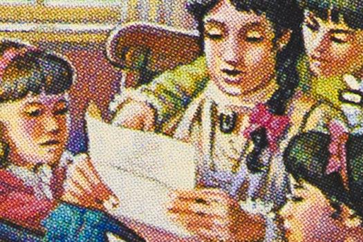 little women - us postage stamp - image by catwalker - shutterstock - feature