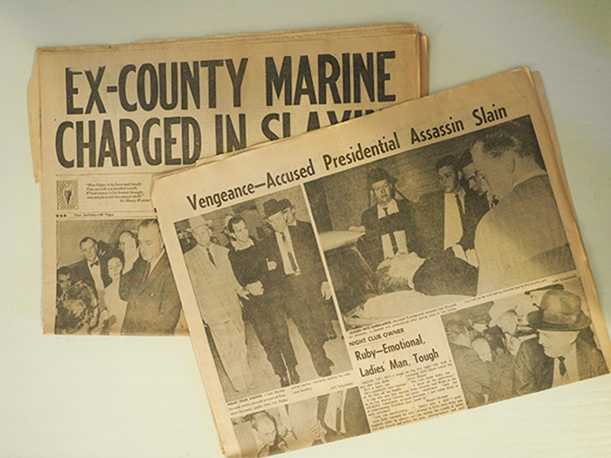 oswald newspapers - embed - by Teresa Otto - Shutterstock