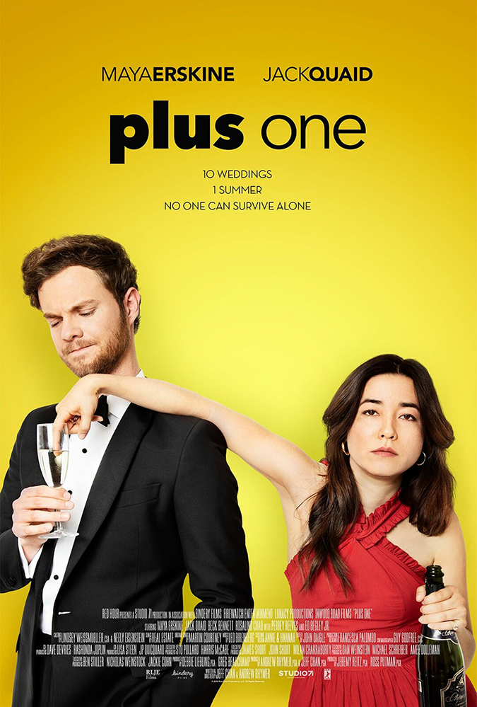 plus one - movie poster - rlje films - poster design by legion creative group - embed