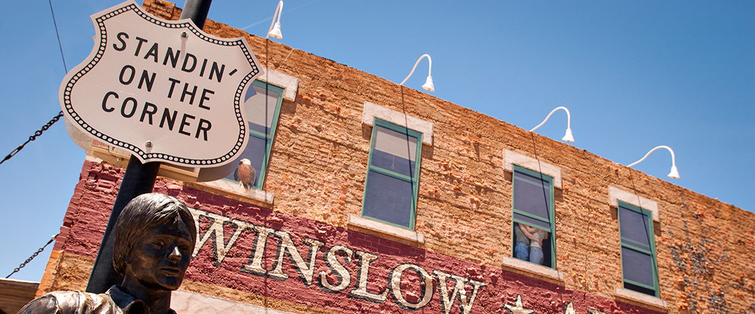 standin on the corner - winslow - arizona - photo by Mark Skalny - Shutterstock
