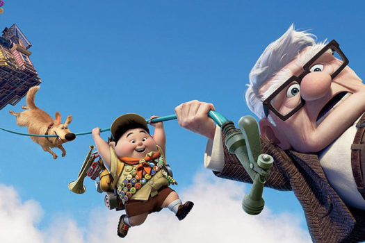 up - movie art - disney movies - pixar - embed