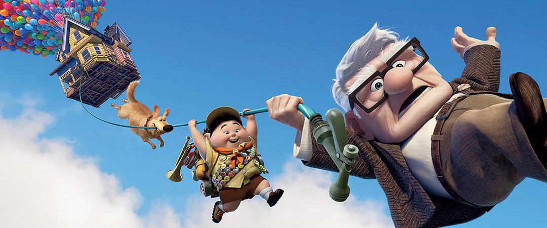 up - movie art - disney movies - pixar - embed