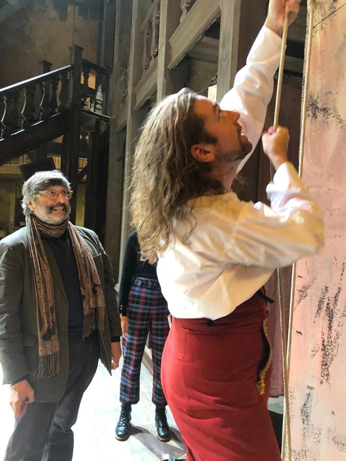 Santo Loquasto - Photo by John Quilty - Marriage of Figaro - Théâtre des Champs-Élysées - 2019