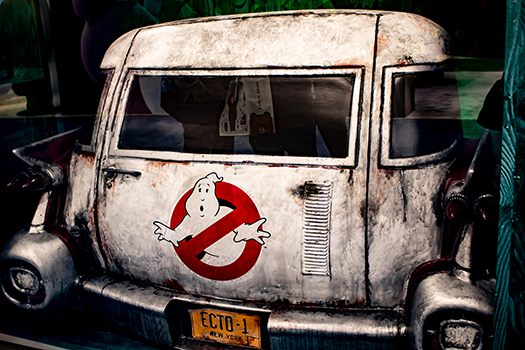 ecto 1 - ghostbusters - photo by Elizabeth Winterbourne - Shutterstock