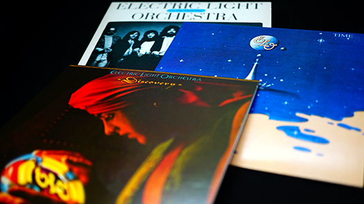 electric light orchestra CD covers - Kraft74 - Shutterstock