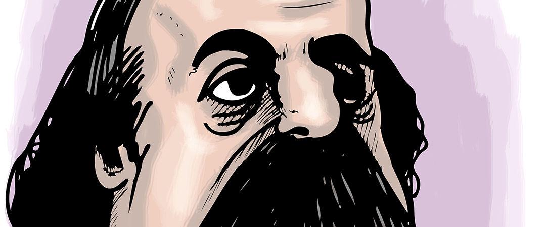 gustauve flaubert caricature - Seba Armstrong - Shutterstock - feature