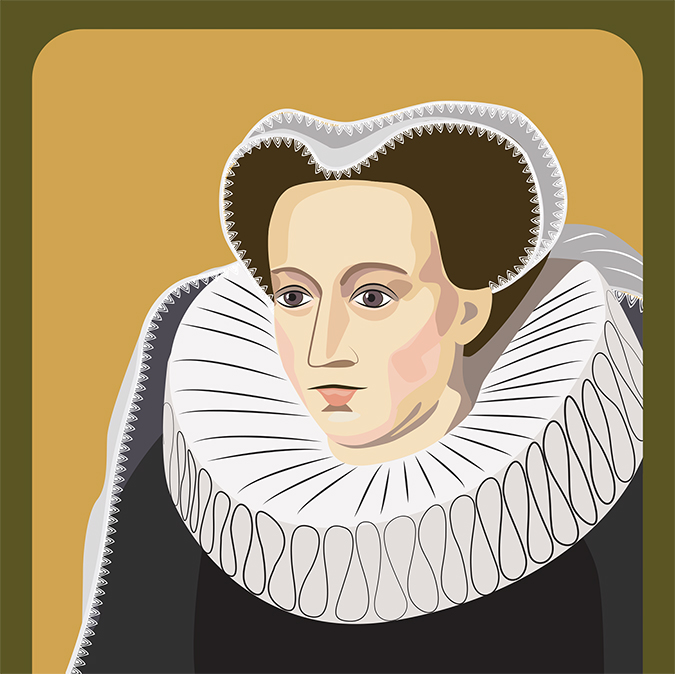 mary queen of scots art - tanetz - Shutterstock - embed