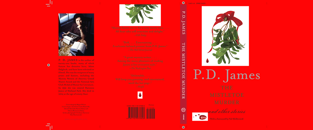 the mistletoe murder and other stories - book cover - penguin random house