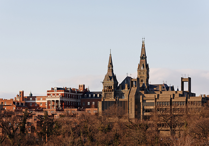 Georgetown campus - photo by Katherine Welles - Shutterstock - embed