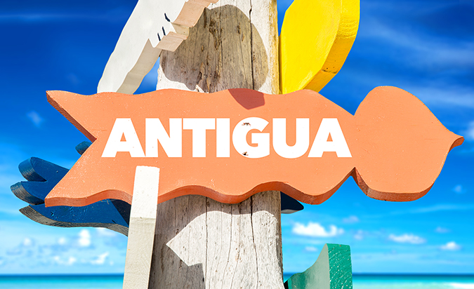 antigua island - sign - photo by Gustavo Frazao