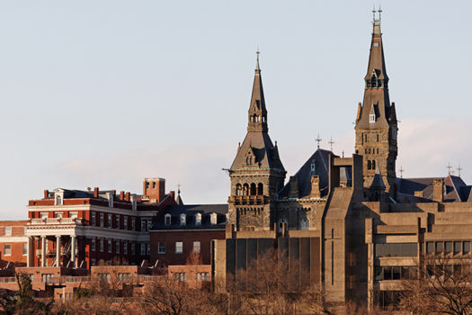 georgetown campus - photo by Katherine Welles - Shutterstock - feature