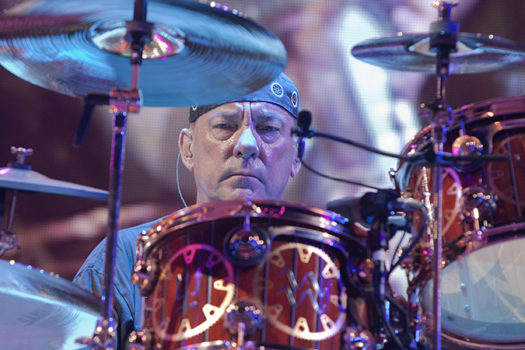 neil peart - rush - 2011 - photo by Harmony Gerber - Shutterstock - feature