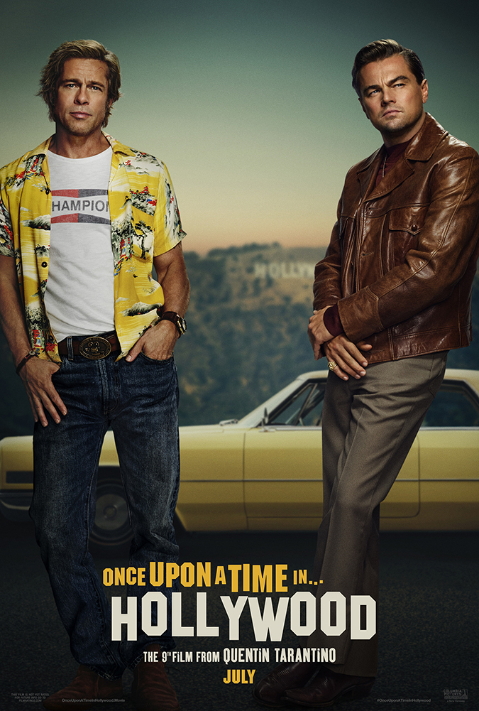once upon a time in hollywood - movie poster - courtesy of sony pictures - embed