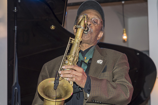 saxophonist jimmy heath - 2014 - photo by Sam Aronov - Shutterstock