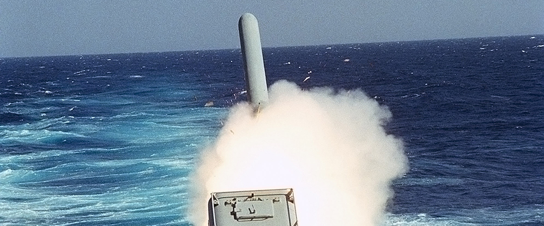tomahawk missile - operation desert storm - photo by Everett Historical - Shutterstock - feature