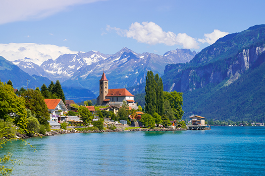 brienz - switzerland - Ireine - Shutterstock