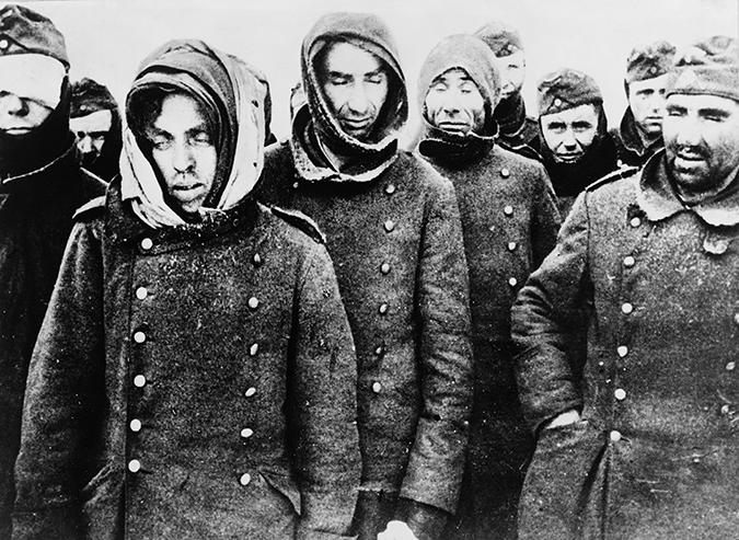 german prisoners - stalingrad - 1943 - everett historical - shutterstock