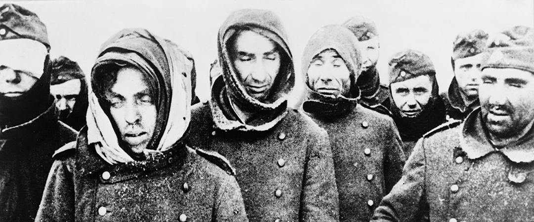 german surrender at stalingrad - everett historical - shutterstock