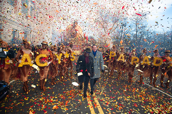 20191128©DayMacyPrde6257.jpg The 93rd Macy's Thanksgiving Day Parade kicked off under windy, sunny skies and cool temperatures as hundreds of thousands line the parade route to celebrate the clowns, floats, and balloons fly by, starting the holiday season in New York City.