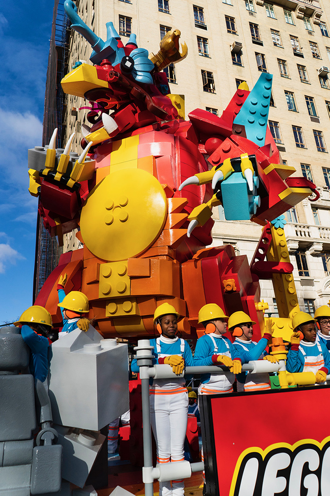 20191128©DayMacyPrde9821.jpg The 93rd Macy's Thanksgiving Day Parade kicked off under windy, sunny skies and cool temperatures as hundreds of thousands line the parade route to celebrate the clowns, floats, and balloons fly by, starting the holiday season in New York City.