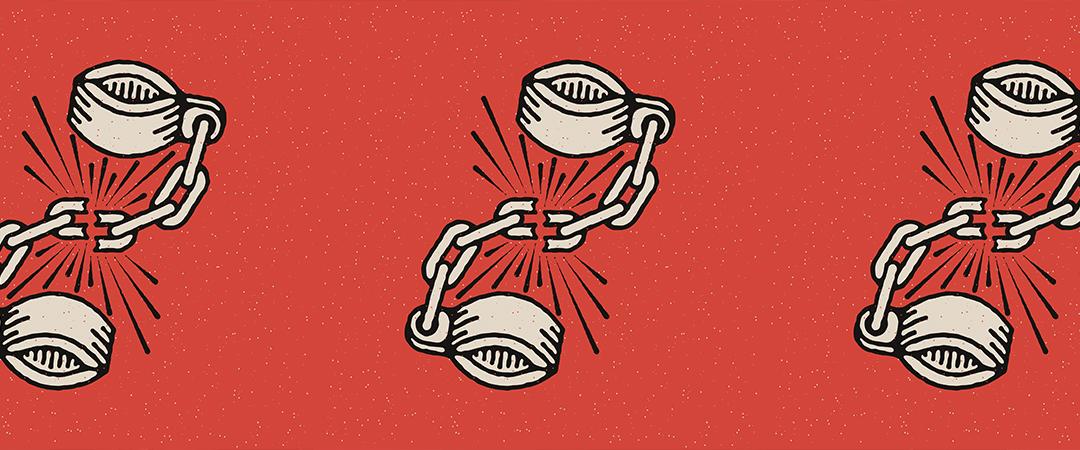 broken shackles art - creatifolio - Shutterstock