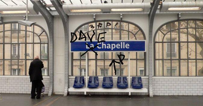 dave chappelle - paris - poster