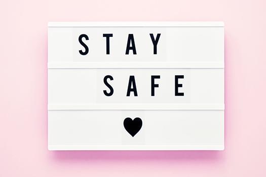 stay safe - Laima Gri - Shutterstock