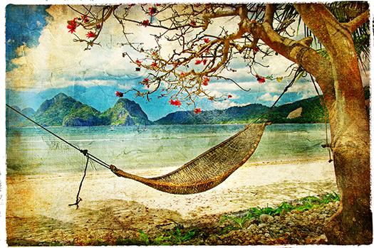 tropical scene - leoks - Shutterstock