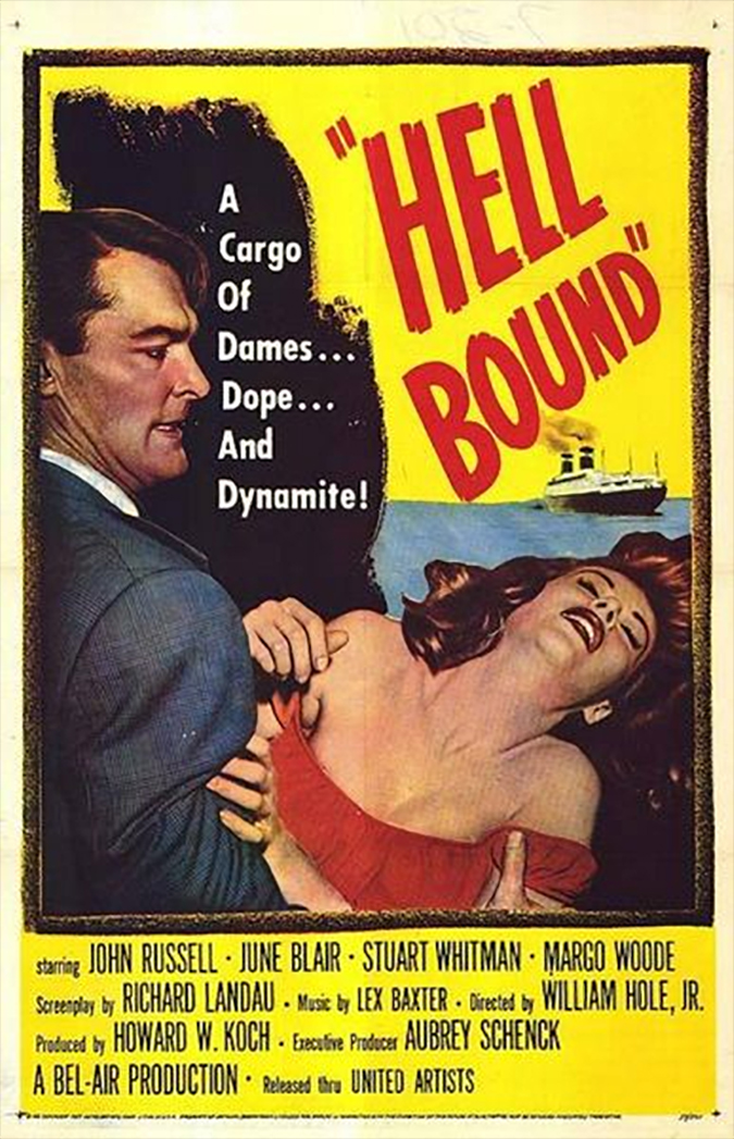 Hell Bound - United Artists - MGM - Movie Poster