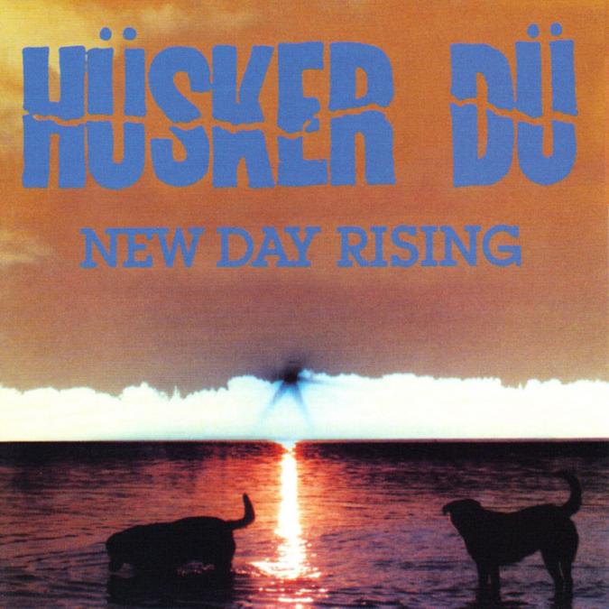 Hüsker Dü - New Day Rising - Album Cover - SST Records