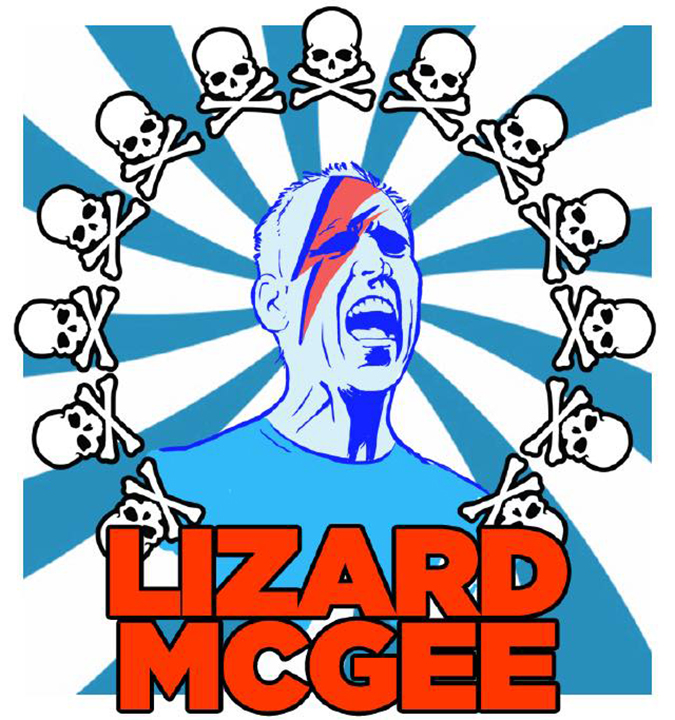 Lizard McGee Art - Courtesy of Lizard McGee