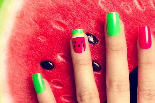Watermelon Nails - NW
