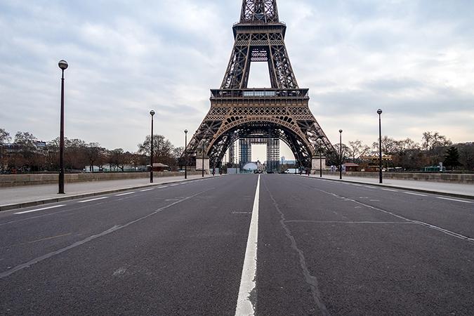 france lockdown - photo by UlyssePixel - shutterstock - embed