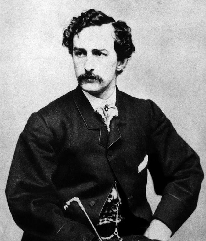 john wilkes booth - 1865 - Everett Historical - Shutterstock - embed