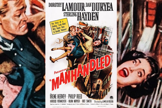 manhandled - 1949 - movie poster