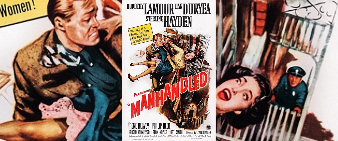 manhandled - 1949 - movie poster