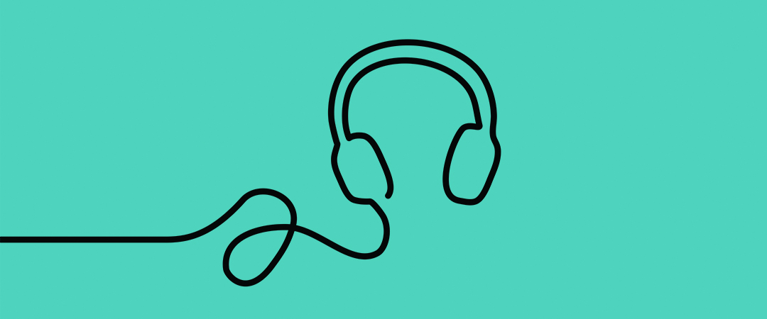 my week my music - earphones - art by Mark Rademaker - Shutterstock - feature