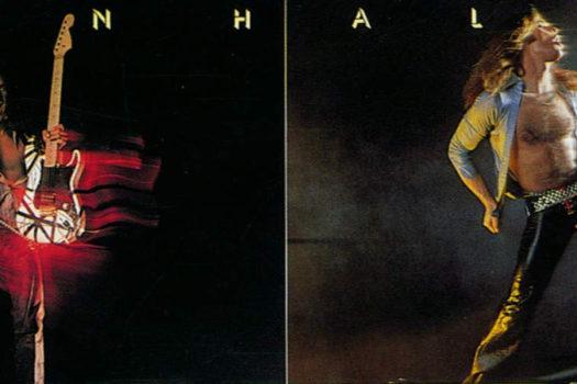 top half of van halen album - warner bros records - feature