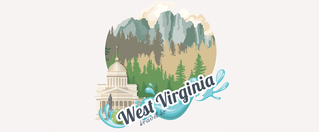 travel to west virginia poster - Tatsiana Tsyhanova - Shutterstock - feature