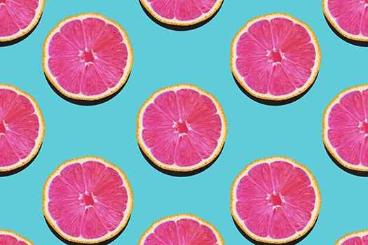 grapefruit pink flesh - Picture Store - Shutterstock